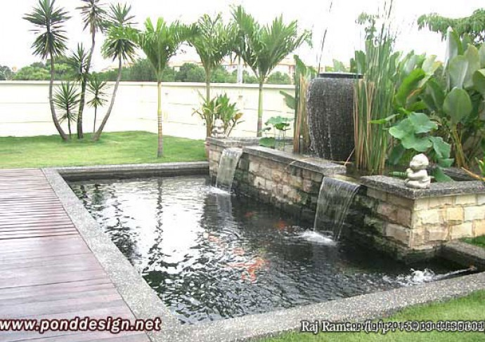 Koi pond design fountain design trading for Koi pool design