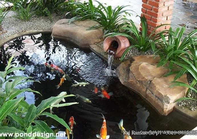 Koi pond design malaysia fountain design trading for Best koi pond filter design