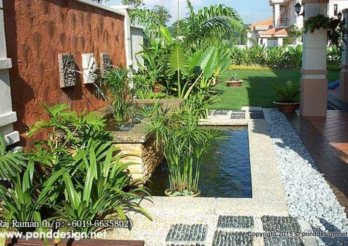 Fish pond design and contractor malaysia fountain design for Koi fish pond design in malaysia