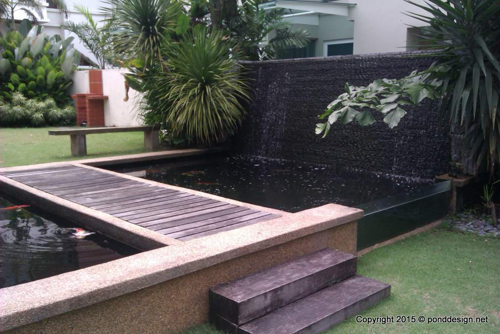 Fish pond and other outdoor landscaping malaysia for Fish pond fountain design