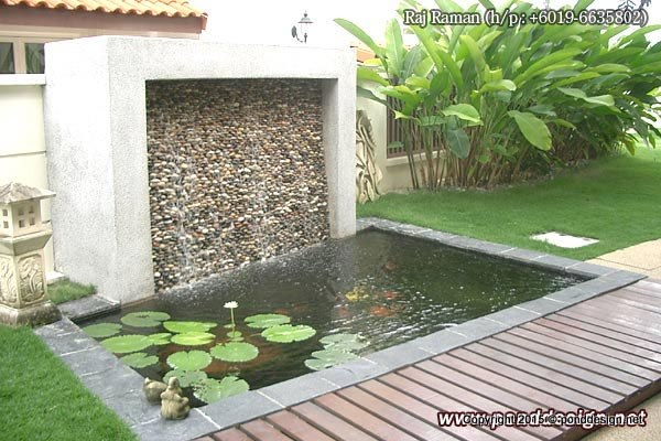 Koi pond design fountain design trading for Koi pond design malaysia